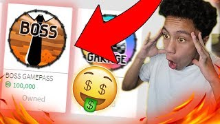 Download BUYING THE low budget BOSS GAMEPASS? (Roblox Jailbreak) Video