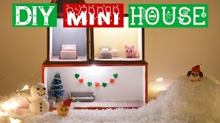 Download DIY MINI WINTER CHARMS & HOUSE - How To Make A Mini Room Decoration For Christmas Video