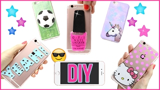Download 5 DIY Phone Case Designs! How To Make Liquid, Stress Ball, Hello Kitty, Galaxy-Easy Phone Cover DIYs Video