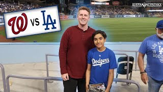 Download FIRST DODGERS GAME OF 2018! | Kleschka Vlogs Video
