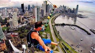 Download World's Largest Urban Zipline Video