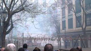 Download Valencia, Spain, Las fallas fireworks Video