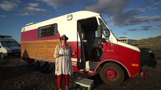Download Single Mom Self Converts Fire Truck Into Tiny Home To Travel With Her Daughter Video