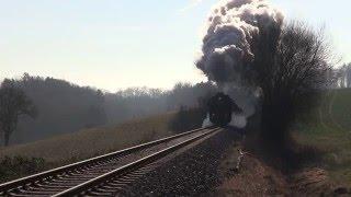 Download Laute Auspuffschläge, lange Züge - Dampfloks unterwegs in 2015 Video