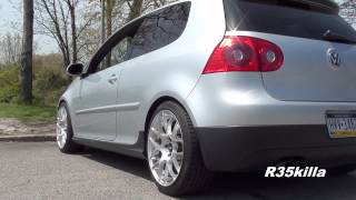 Download Mk.5 VW Golf GTI Resonator Delete - LOUD Revvs and Flyby! Video
