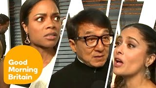 Download Celebrities React to Oscars Best Picture Envelope Blunder | Good Morning Britain Video