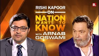 Download Rishi Kapoor On Nation Wants To Know With Arnab Goswami | Full Episode Video