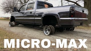 Download Driving a Duramax on JUST RIMS (sparky burnouts) Video