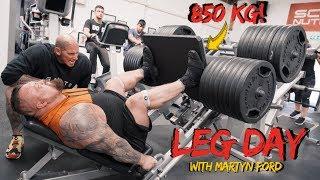 Download Last time I leg pressed 1870Lbs I broke a rib.. Video