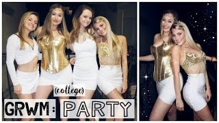 Download Get Ready With Me (+ friends): A College Party (USC) Video