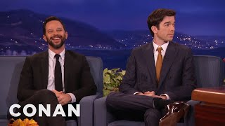 Download Nick Kroll & John Mulaney Haven't Seen Any Movies Lately - CONAN on TBS Video