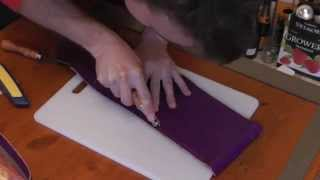 Download Making a leather purse by hand Video