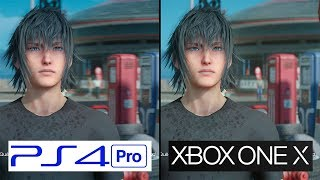 Download Final Fantasy XV | Xbox One X vs PS4 Pro | 4K Graphics Comparison | Comparativa Video