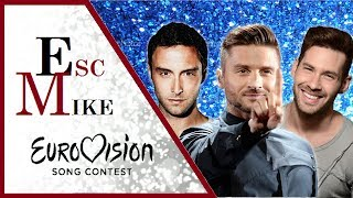 Download Eurovision Most HANDSOME Men - My Top 30 [2000 - 2017] Video