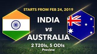 Download Cricbuzz LIVE panel previews Australia's tour of India Video