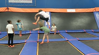 Download Jumping Over Kids! Video