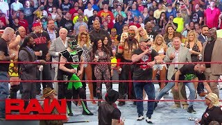 "Download ""Stone Cold"", Hulk Hogan and Ric Flair lead A Toast to Monday Night Raw: Raw Reunion, July 22, 2019 Video"
