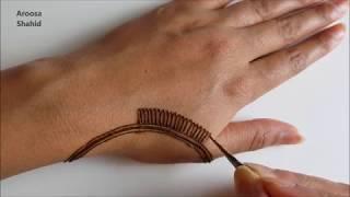 Download My Simple Eid Henna design | Henna Art by Aroosa Video