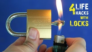 Download 4 Amazing life hacks with Locks Video