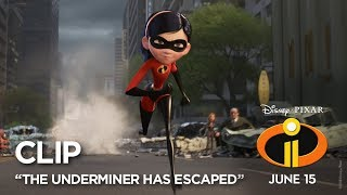 Download Incredibles 2 Clip - ″The Underminer Has Escaped″ Video