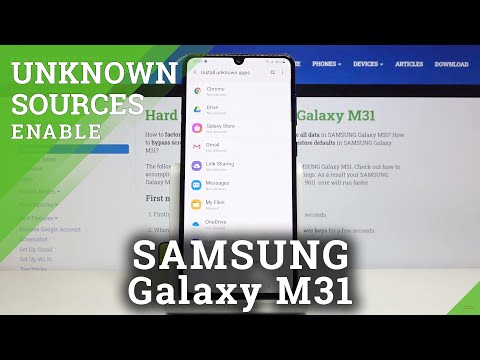 How to Allow Unknown Sources in SAMSUNG Galaxy M31 – Allow Downloading