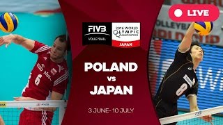 Download Poland v Japan - 2016 Men's World Olympic Qualification Tournament Video