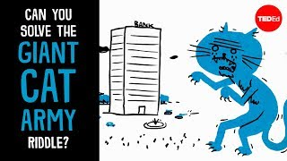 Download Can you solve the giant cat army riddle? - Dan Finkel Video