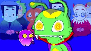 Download Groovy The Martian & Phoebe - A witch has hypnotised all the kids! Groovy is like a superhero! Video