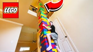 Download BUILDING WORLD'S TALLEST LEGO TOWER! (50FT+) Video