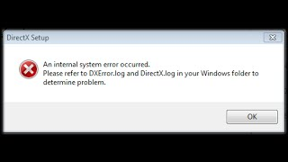 Download How to Fix DXError.log and DirectX.log |Installing DirectX problem| Video