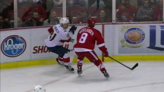 Download Abdelkader attempts hit on Trocheck, comes up injured Video