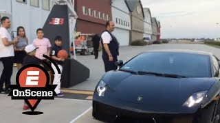 Download LaMelo Ball arrives to 16th birthday party in Lambo | OnScene | ESPN Video