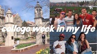 Download college week in my life VLOG | freshman at indiana university (little bike 500 race) Video