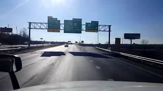 Download BigRigTravels LIVE! Kansas City, Missouri to Edwardsville, Kansas Interstates 435 & 70-Dec. 12, 2017 Video