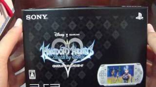 Download Unboxing Kingdom Hearts Birth By Sleep PSP Bundle Video