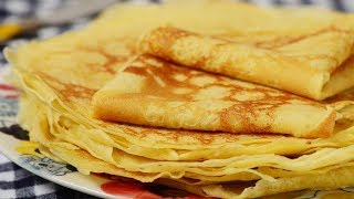 Download Crêpes Recipe Demonstration - Joyofbaking Video