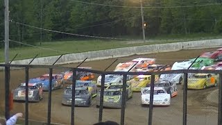 Download RUSH Crate Late Model Feature | Eriez Speedway | 6-7-15 Video