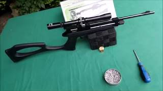 Download Diana Chaser WPU-Carbine 4,5 mm Co2// 25 MeterPräzision mit Billig-ZF & H&N FTT Green by WPU Video