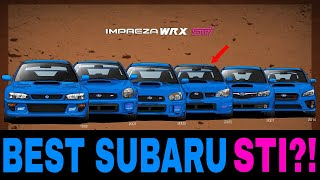 Download What is the BEST Subaru Impreza STI Generation? Video