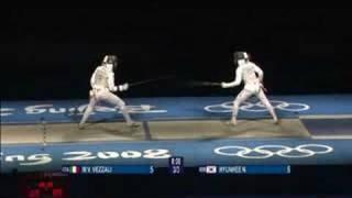 Download Italy vs Korea - Fencing - Women's Individual Foil - Beijing 2008 Summer Olympic Games Video