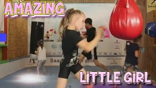 Download Amazing Little Girl Boxer with Super Fastest Hands Video