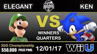 Download 2GGC - BSD | Elegant (Luigi) Vs. KEN (Sonic) Winners Quarters Video