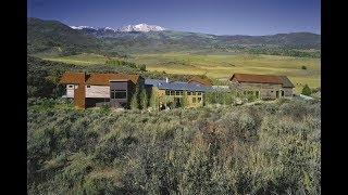 Download Serenity Found in the Heart of the 1500 Acre Lazy O Ranch in Snowmass, Colorado Video