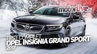 Download OPEL INSIGNIA GRAND SPORT 2017 | TEST COMPLET Video