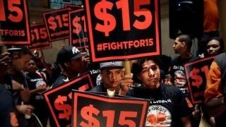 Download Could minimum wage protests backfire? Video