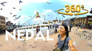 Download NEPAL in 360 Virtual Reality Tour Video