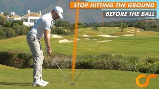 Download HOW TO STOP HITTING THE GROUND BEFORE THE GOLF BALL Video