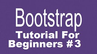 Download Bootstrap Tutorial For Beginners 3 - Row and Column in Grid System Video
