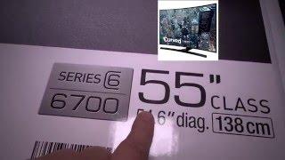 Download Samsung 55″ Class Curved 4K UHD LED Smart HDTV 2015 Model- UN55JU6700 Video