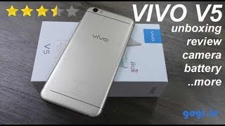 Download Vivo V5 / V5s review - unboxing, camera quality, battery Video